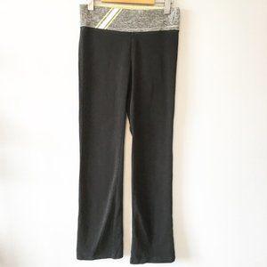 Victoria's Secret PINK Black/Gray/Lime Leggings S